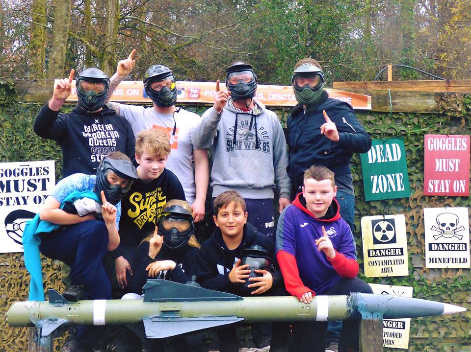 Childrens Birthday Party Archives Teamforce Paintball In Swansea - Childrens birthday party ideas llanelli